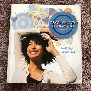 Psychology in Everyday Life Textbook
